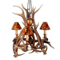 No Footsie Antler Chandelier